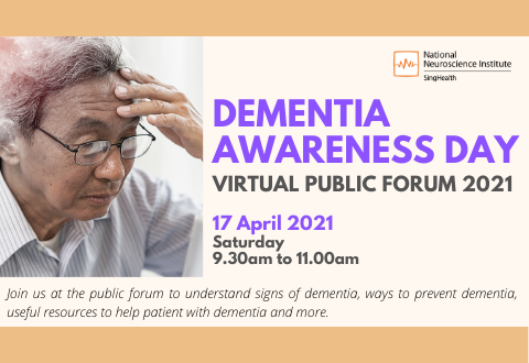 Dementia Awareness Day 2021 - Public Forum