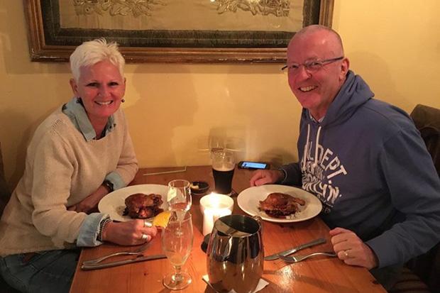 Mr Declan MacFadden lost his wife Anne MacFadden to glioblastoma three years ago.    PHOTO COURTESY OF DECLAN MACFADDEN