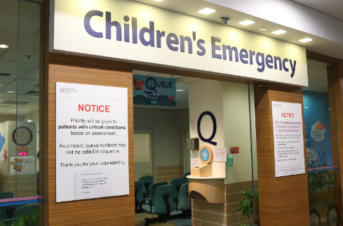 A Children's Emergency response to COVID-19