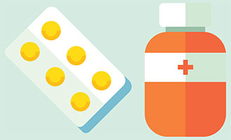medications illustration