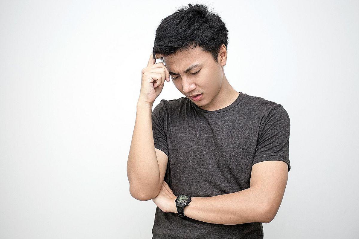 A severe headache could be a symptom of haemorrhagic stroke.
