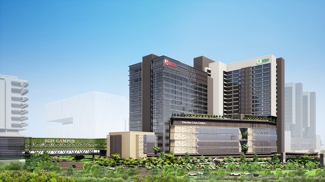 New SGH Elective Care Centre and NDCS Building to Meet Future Healthcare Needs