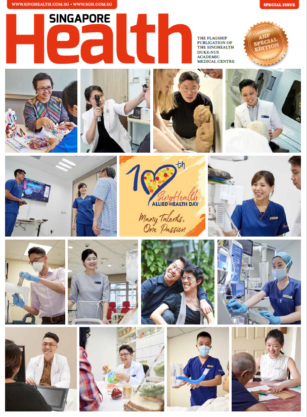 Singapore Health Special Allied Health Professionals Issue 2021